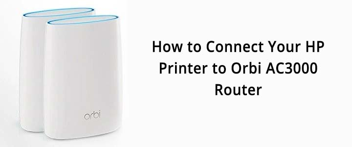 Orbi AC3000 Router